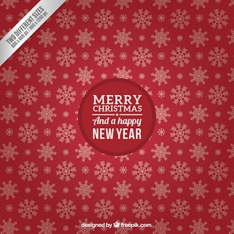 Рождество и новый год красный фон