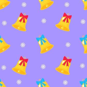 Рождество и новый год бесшовные модели