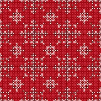 クリスマスと新年のシームレスパターン
