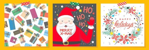 Рождественские и новогодние типографии