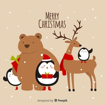 크리스마스 동물