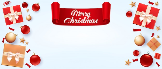 Christmas background greeting card.
