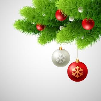 Christmas background  illustration.