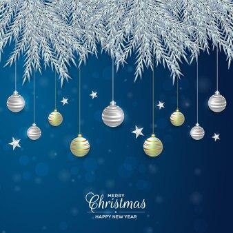 Рождественский фон иллюстрация