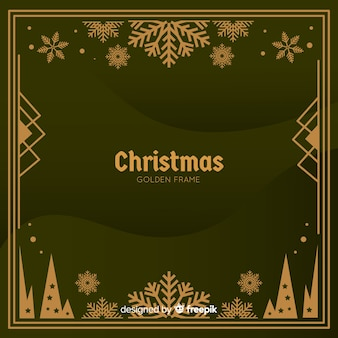 Рождественский фон в реалистичном дизайне