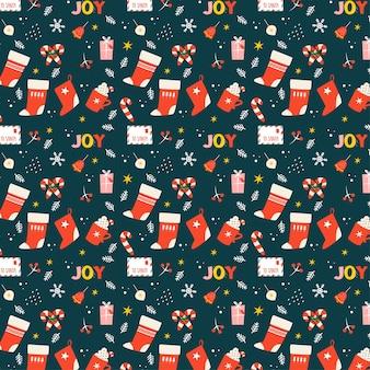 Рождественский фон - радость