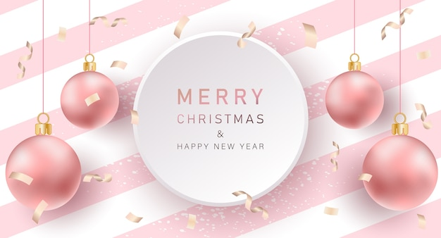 Christmas background. merry christmas banner