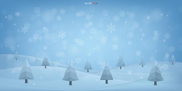 エレガントな冬のクリスマスの背景