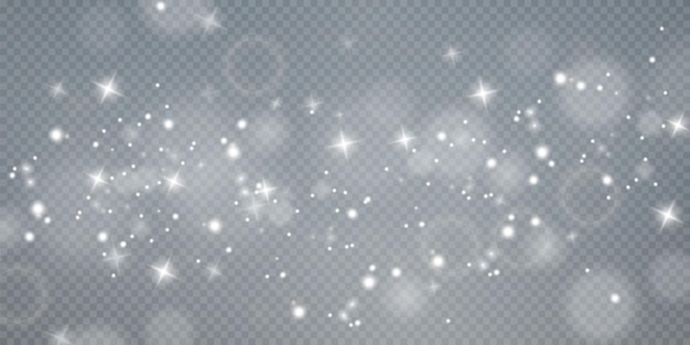 Christmas background powder png magic shining white dust fine shiny dust particles fall