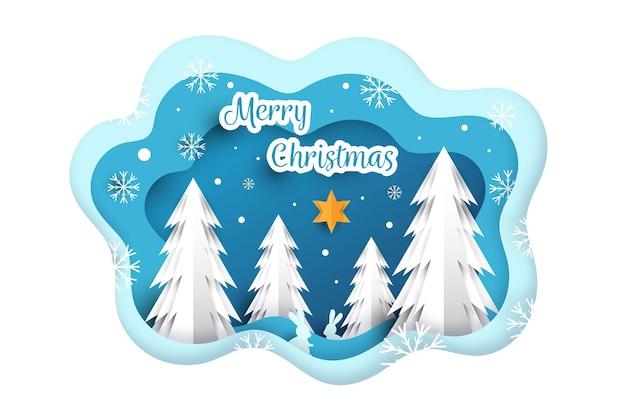 クリスマスの背景のテーマ