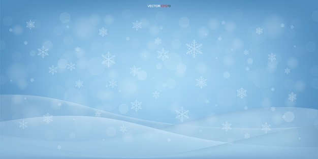 Christmas background of winter elegant