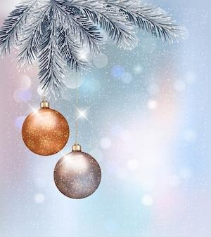 싸구려와 크리스마스 배경입니다.