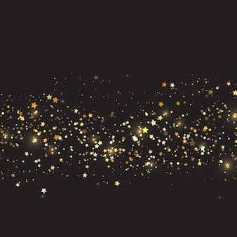 c7487c1776b3 Christmas background with gold stars design