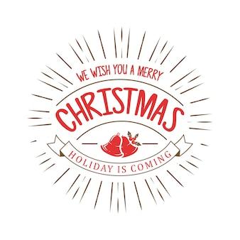 글자와 크리스마스 배경