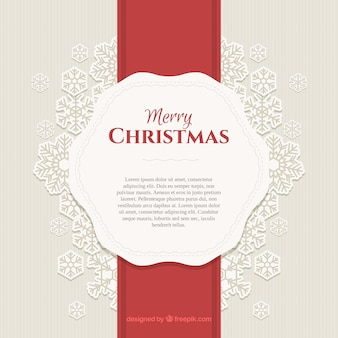 Christmas background with vintage style