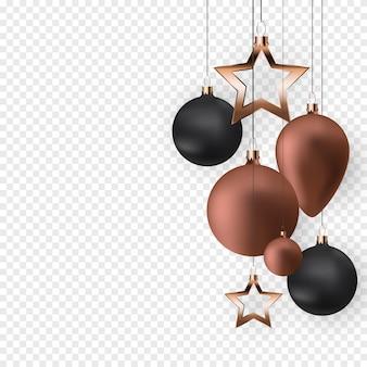 Christmas balls for holidays