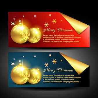 Christmas balls labels