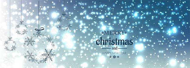 Christmas banner for christmas ball for shiny glitters