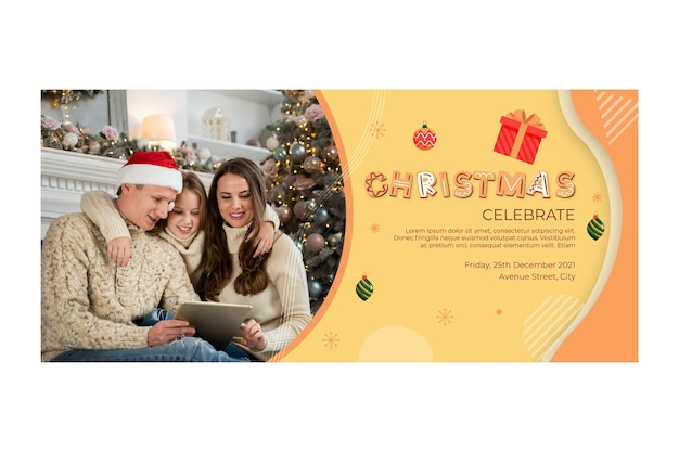 Christmas banner concept