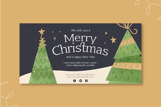 Рождественский баннер концепция