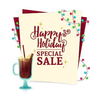 판매를위한 크리스마스 배너 디자인 서식 파일