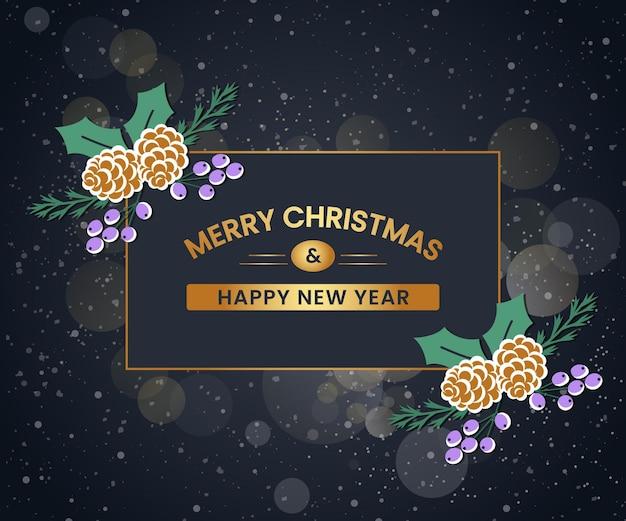 雪の結晶の安物の宝石の背景を持つクリスマスバナーゴージャスな背景を持つクリスマスセールバナー