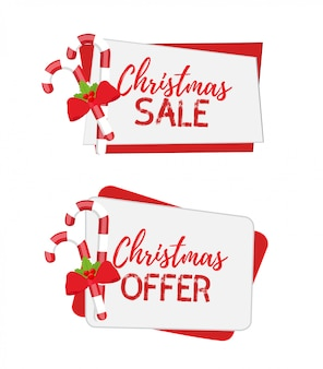 Christmas banners for sale with sugar cane