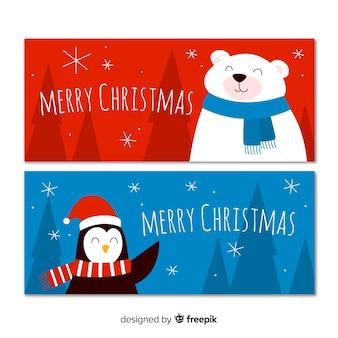 Рождественские баннеры