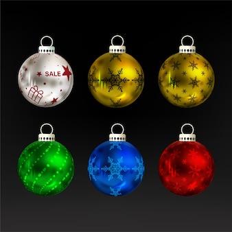 Рождественский набор безделушек
