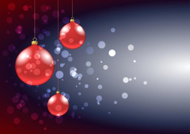 グリーティングカードのクリスマスつまらない背景