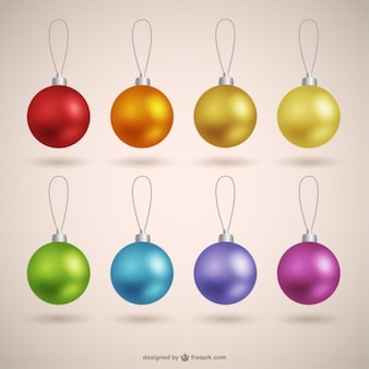 Christmas baubles collection