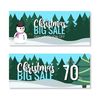 Christmas big sale banner