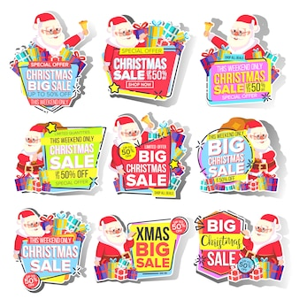 Christmas big sale sticker