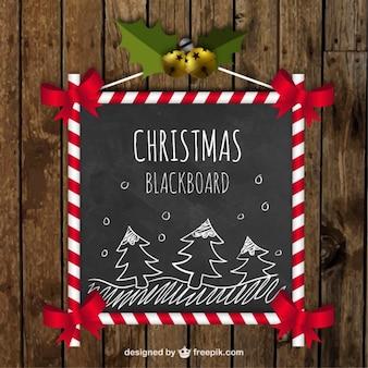 Christmas blackboard