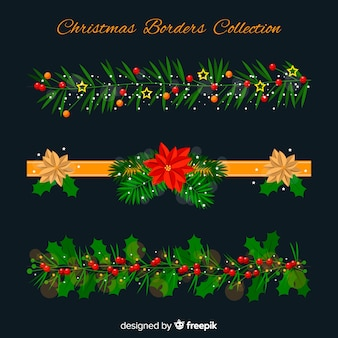 Christmas border collection