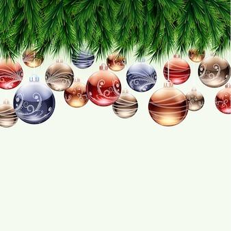 泡とクリスマスの国境。