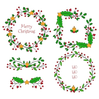 Christmas borders and frames pack