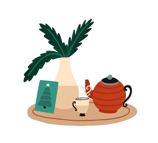 Christmas breakfast and tea