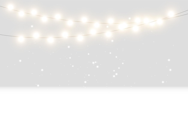 Christmas bright beautiful lights design