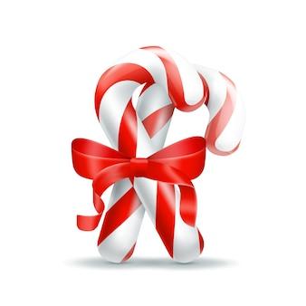 Рождественские конфеты. иллюстрация, изолированные на белом фоне. графическая концепция для вашего дизайна