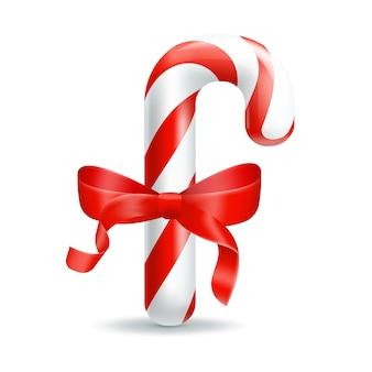 Рождественские конфеты. иллюстрация изолирована на белом фоне.