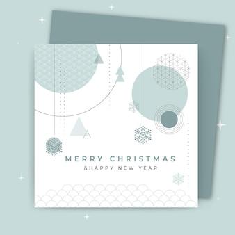 Концепция рождественской открытки