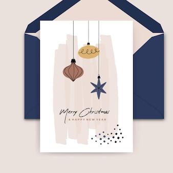 크리스마스 카드 개념