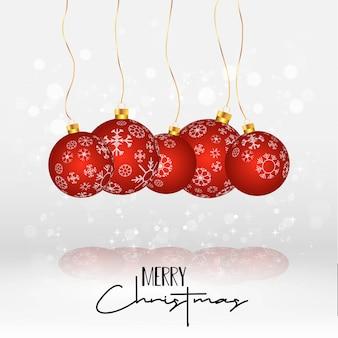 Christmas card elegant design