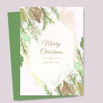 クリスマスカードテンプレート