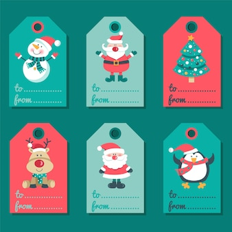 Christmas card with invitations..