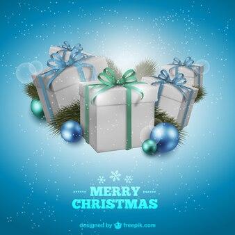 선물 크리스마스 카드