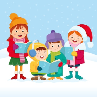 Рождественские певцы