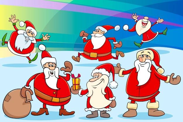 クリスマス漫画イラスト