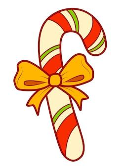 크리스마스 만화 클립 아트입니다. 사탕 클립 아트 벡터 일러스트 레이 션.